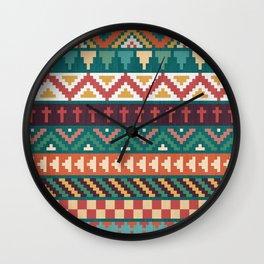 Southwestern Pattern Wall Clock