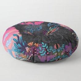 Black Eyed Dog Floor Pillow