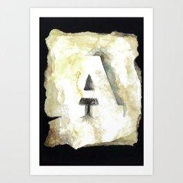/ A Art Print