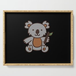 Cute Coala Bear Gift Serving Tray