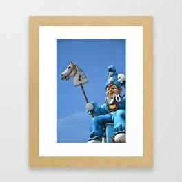 Punchinello II Framed Art Print