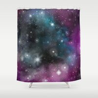 infinity Shower Curtains featuring Infinity by ShaylahLeigh