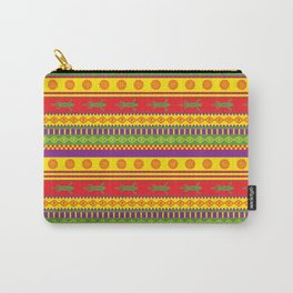 gecko mexican pattern Carry-All Pouch