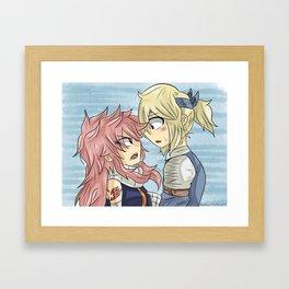 Nalu Promise. Framed Art Print