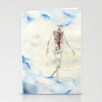 titan Stationery Cards featuring Titan by Sandra Grippi