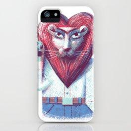 Lion's heart iPhone Case