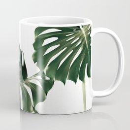 Minimalist Monstera Coffee Mug