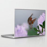 hummingbird Laptop & iPad Skins featuring Hummingbird by dBranes
