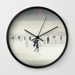 floating on light Wall Clock