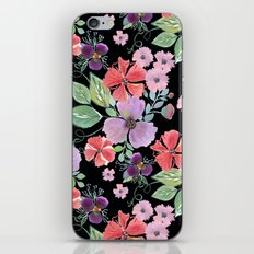 Floral pattern 8 iPhone Skin