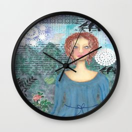 Boudicca, Warrior Queen of the Iceni Wall Clock