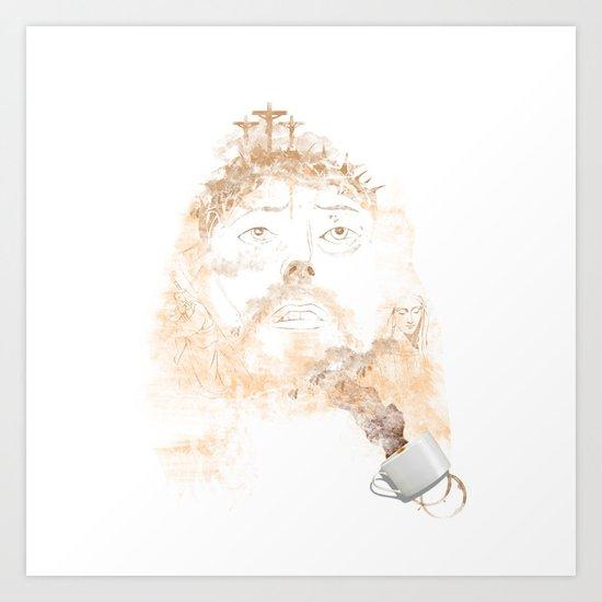 A CUP OF FAITH Art Print