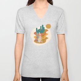 Nature Layers Unisex V-Neck