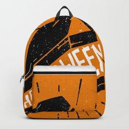 Halloween Coffin (Orange) Backpack