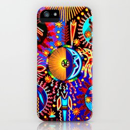 Huichol Dreams iPhone Case