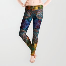Candid Cosmos Leggings