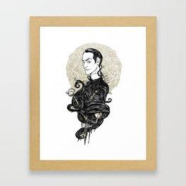 Sherlock Holmes - Consulting Detective Framed Art Print