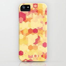 Hexa-Lazer-Icecream iPhone Case