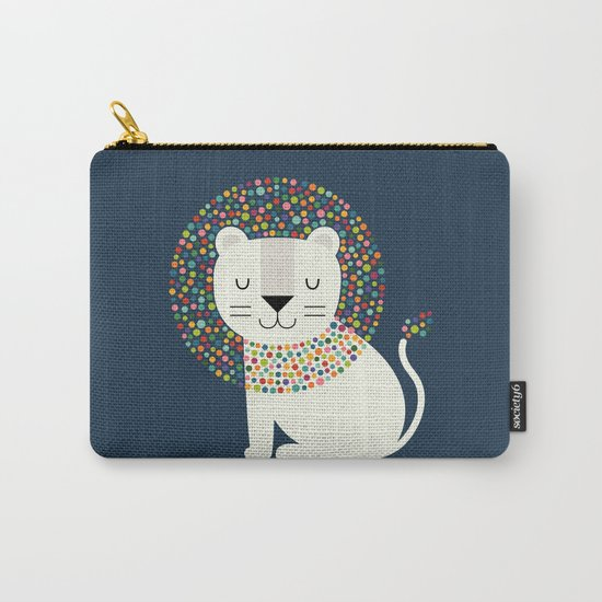 As A Lion Carry-All Pouch