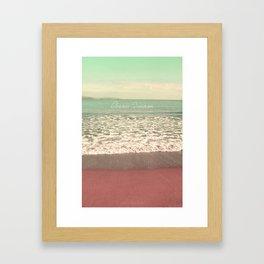 Ocean Dream I Framed Art Print