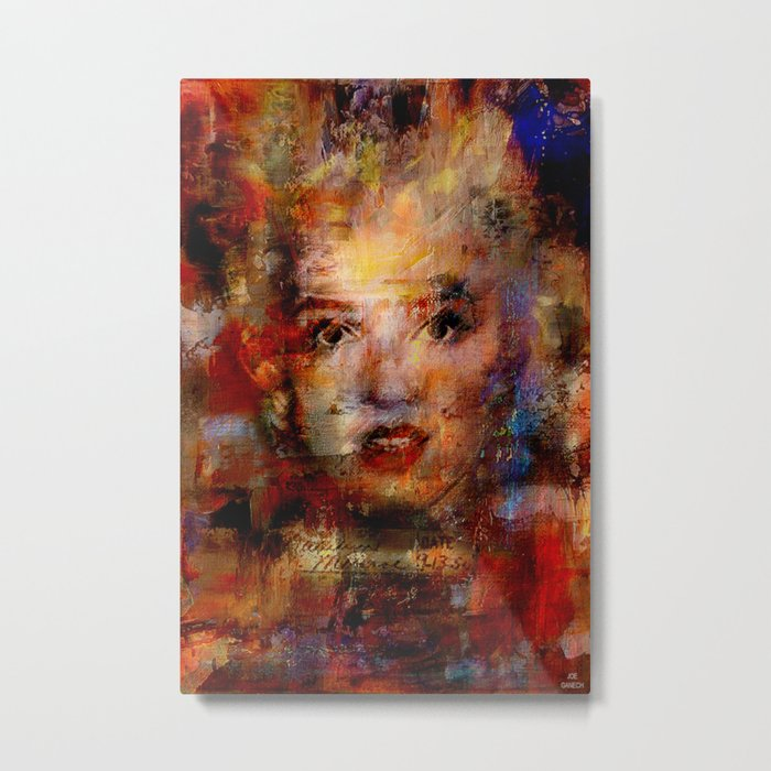 Once upon a time Marilyn Metal Print