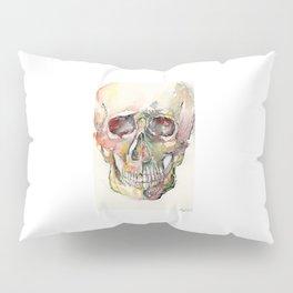 Human Skull Painting Pillow Sham
