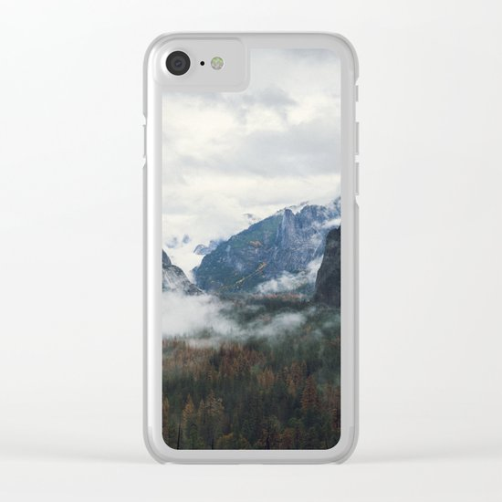 Mountain Landscape photography Clear iPhone Case