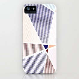 Striped in colors iPhone Case