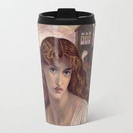 Dante Gabriel Rossetti - Salutation Of Beatrice Travel Mug