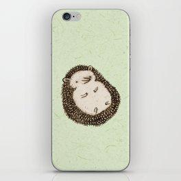 Plump Hedgehog iPhone Skin
