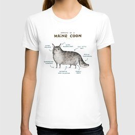 Anatomy of a Maine Coon T-shirt
