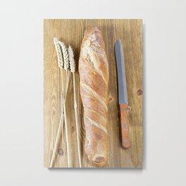 one fresh bread Metal Print