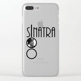 Sinatra 100th Birthday Clear iPhone Case