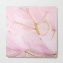 Pastel Pink Orchid Flower Branch #decor #society6 #homedecor Metal Print