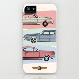 Motor Style Inc.: 60s American Heavy Metal iPhone Case