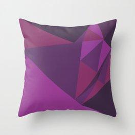 Purple Rain Throw Pillow