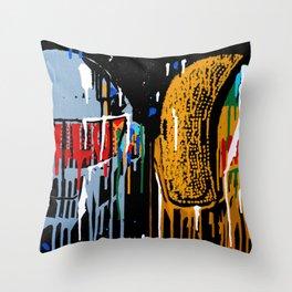 Daft Drip Throw Pillow