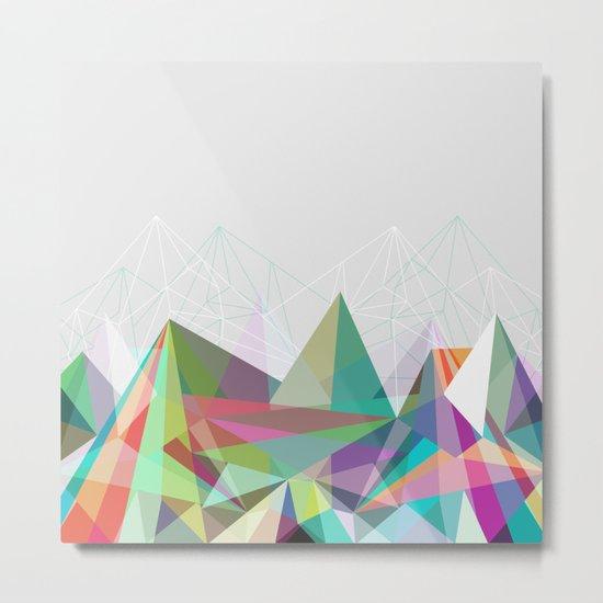 Colorflash 7 Metal Print