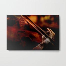 Lacrimosa Violinist Metal Print