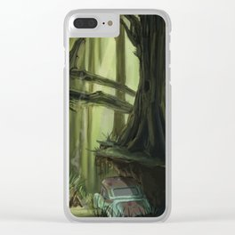 Mid-Atlantic Forest Clear iPhone Case