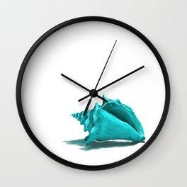Aura the Seashell Wall Clock