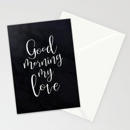 Good Morning My Love #Love #valentines Stationery Cards