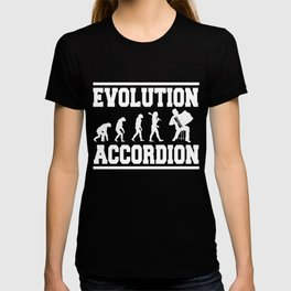 Evolution Accordion T-shirt