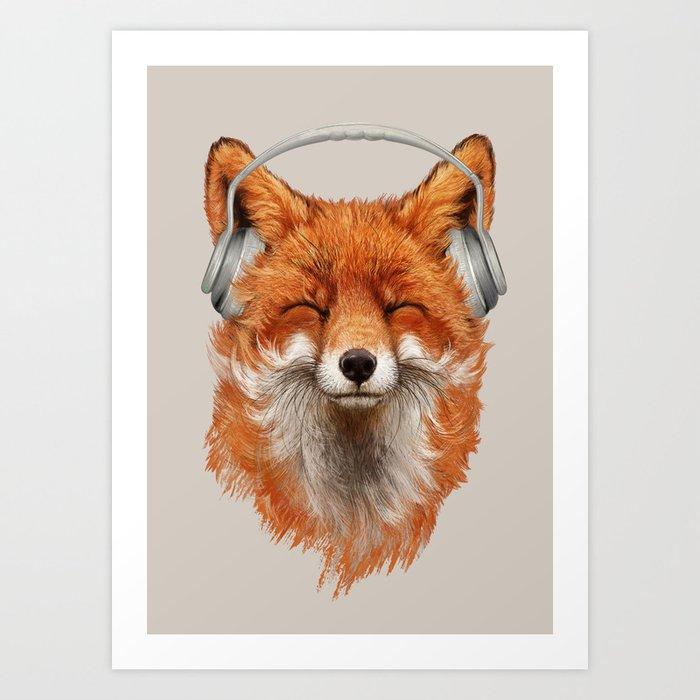 The Musical Fox Kunstdrucke