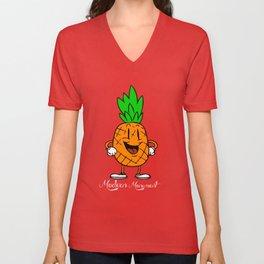 Pineapple Granade Unisex V-Neck
