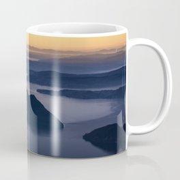 The glow of the lake Coffee Mug