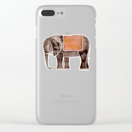 The Elefant Clear iPhone Case