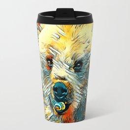 AnimalArt_Bear_20170601_by_JAMColorsSpecial Travel Mug