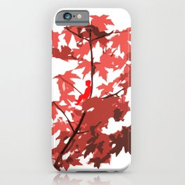 Tree Sitting iPhone Case