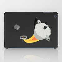 pocket fuel iPad Cases featuring Rocket Fuel Coffee by George Williams